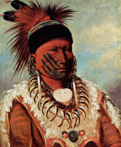 George Catlin painting